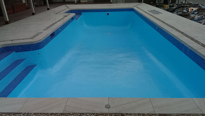 renovated pool finished