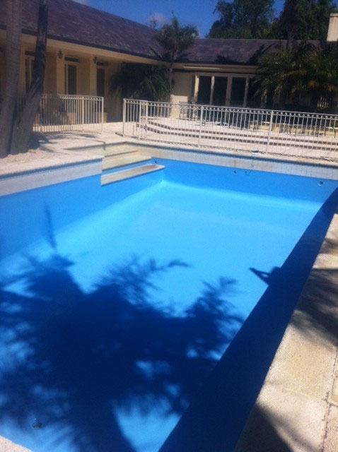 completed pool renovation