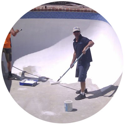 pool painting melbourne