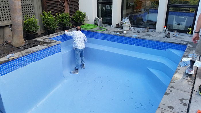 pool renovation and rendering