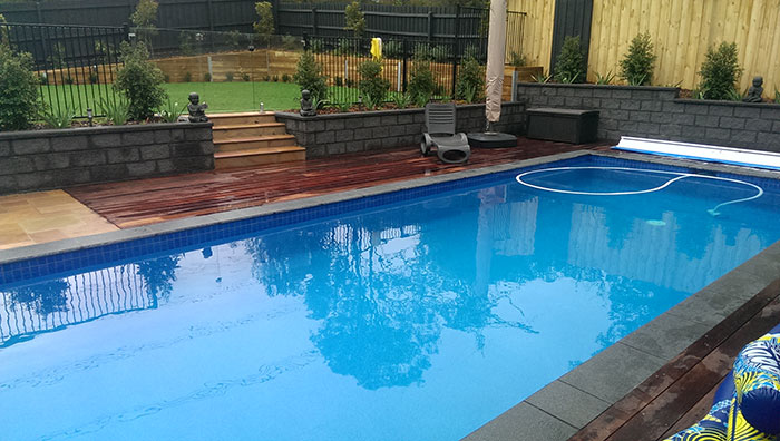 pool makeover eltham