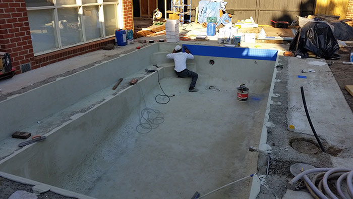 asburton pool renovation